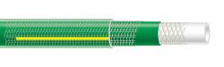Tuyau TUBIXTRA tricote/guipé antivrille 5 couches vert trans. 25m diam 15mm