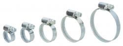 Colliers de serrage acier largeur 9mm en lot de 10