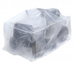Housse «ECOplatinium» 90gr/m2, 180x100xH105cm pour tondeuse