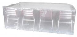 Housse «ECOplatinium» 90gr/m2, 220x120xH70cm pour table rectangulaire
