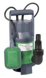 Pompe vide-cave eaux chargées 400w + interrupteur flotteur
