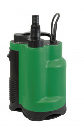 Pompe vide cave eaux chargées 750w + interrupteur intégré, sortie supérieure