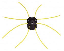 Tête de débroussailleuse universelle + 4 fils carrés