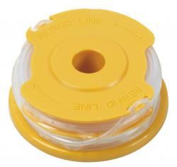 Bobines de fil par 2 diam 1,6mmx2x4m